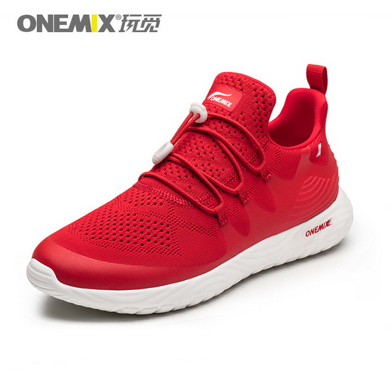 Red Listener Women's Sneakers ONEMIX Men's Cool Shoes