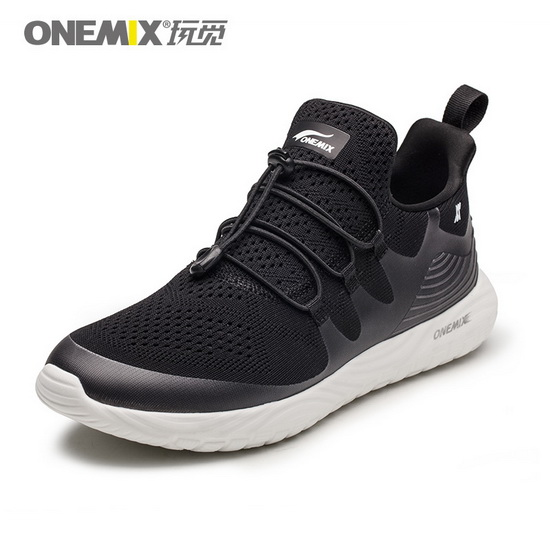 Black Listener Women's Shoes ONEMIX Men's Soft Sneakers