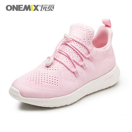 Pink Listener Sneakers ONEMIX Women's Breathable Shoes