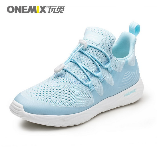 Skyblue Listener Shoes ONEMIX Women's Outdoor Sneakers