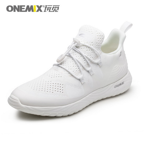 White Listener Women's Sneakers ONEMIX Men's Running Shoes