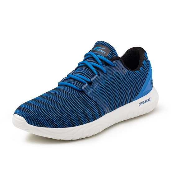 Blue Zebra Sneakers ONEMIX Sport Men's 250 Shoes