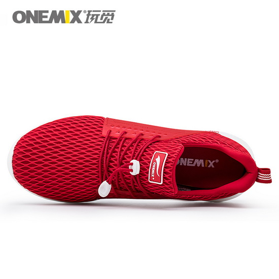 Red Spring Shoes ONEMIX Light Men's Walking Sneakers