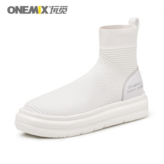 White November Women's Sneakers ONEMIX Autumn Men's Shoes