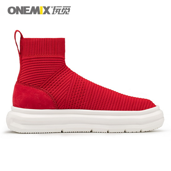 Red November Women's Shoes ONEMIX Walking Men's Sneakers