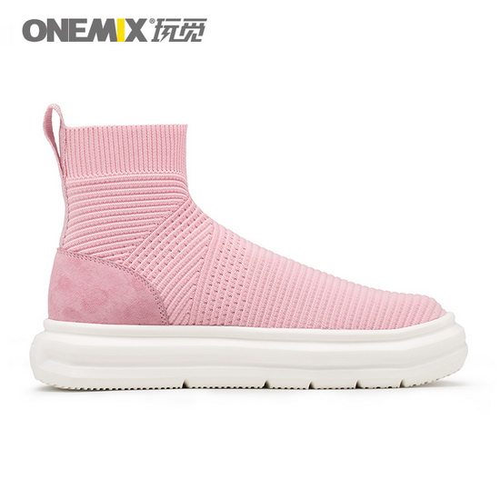 Pink November Shoes ONEMIX Breathable Women's Sneakers