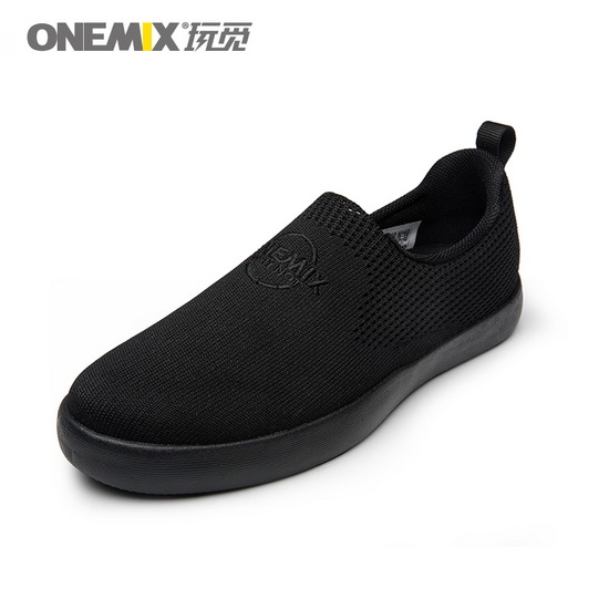 Black Hummingbird Women's Sneakers ONEMIX Couple Men's Shoes