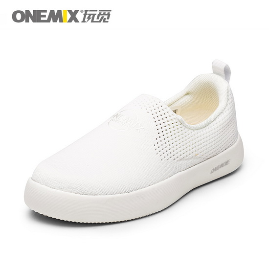 White Hummingbird Women's Shoes ONEMIX Lovers Men's Sneakers