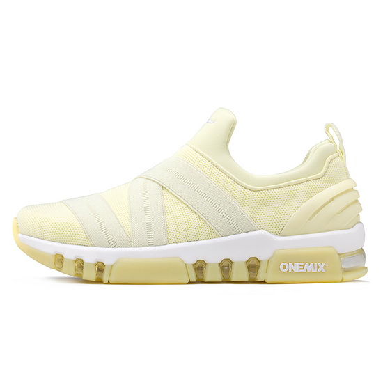Cream KeyBand Shoes ONEMIX Women's Breathable Sneakers