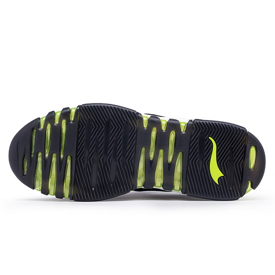 Black/Green KeyBand Shoes ONEMIX Men's Walking Sneakers - Click Image to Close
