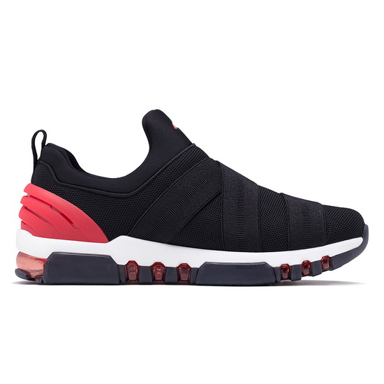 Black/Red KeyBand Sneakers ONEMIX Men's Trekking Shoes