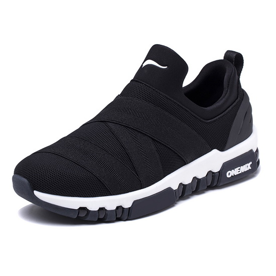 Black KeyBand Men's Shoes ONEMIX Women's Outdoor Sneakers