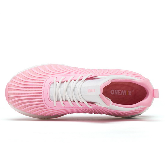 Pink/White Typhoon Women's Shoes ONEMIX Running Sneakers
