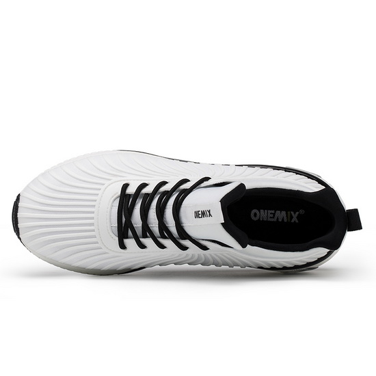 White/Black Typhoon Sneakers ONEMIX Women's Athletic Shoes