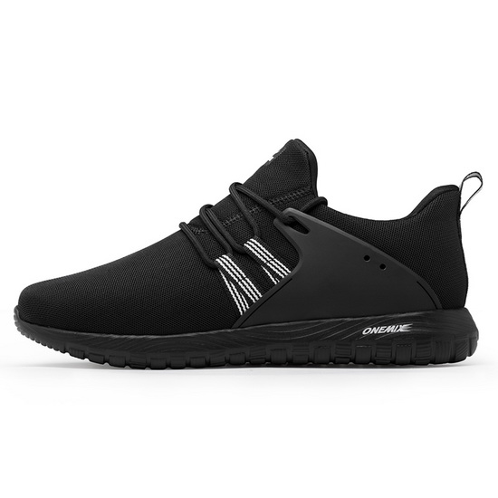 Black Volans Women's Shoes ONEMIX Men's Breathable Sneakers
