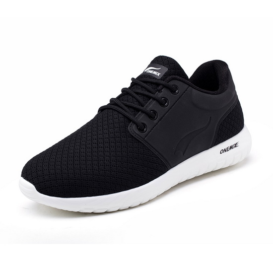 Black Falcon Men's Shoes ONEMIX Women's Outdoor Sneakers