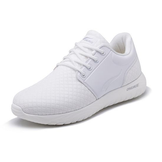 White Falcon Men's Sneakers ONEMIX Women's Lace-up Shoes