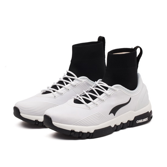 White/Black Pegasus Women's Sneakers ONEMIX Men's Multi-function Shoes