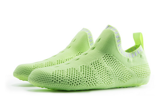 Green Mesh Slip-on ONEMIX Breathable Quick-Dry Slipper Socks