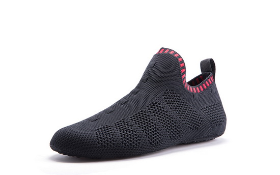 Black/Red Mesh ONEMIX Indoor Quick-Dry Slipper Socks