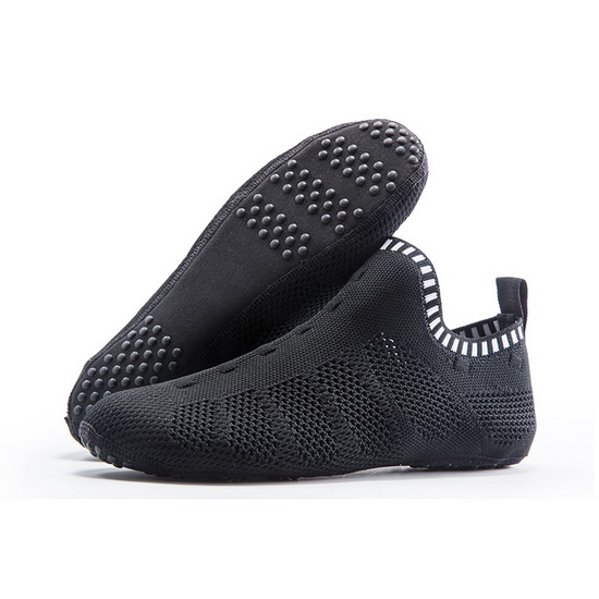 Black Mesh Slip-on ONEMIX Breathable Quick-Dry Slipper Socks