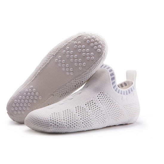 White/Gray Mesh ONEMIX Light Quick-Dry Slipper Socks