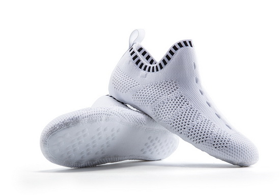 White/Black Mesh ONEMIX Light Quick-Dry Slipper Socks