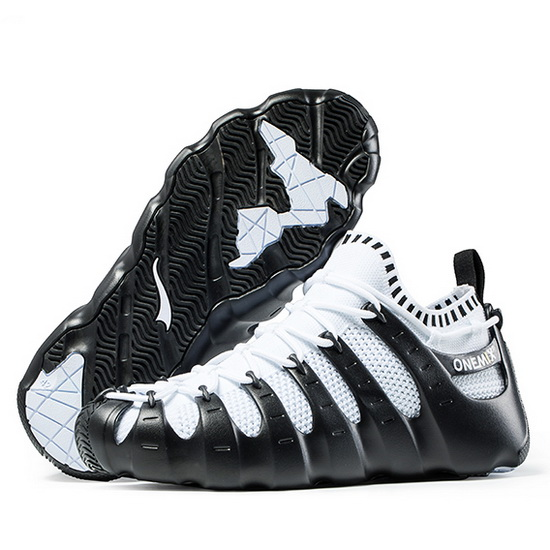 Black/White Rome Women's Sneakers ONEMIX Outdoor Men's Shoes