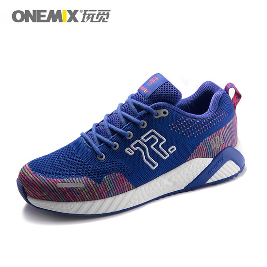 Blue Goku Sneakers ONEMIX Men's Comfortable Shoes
