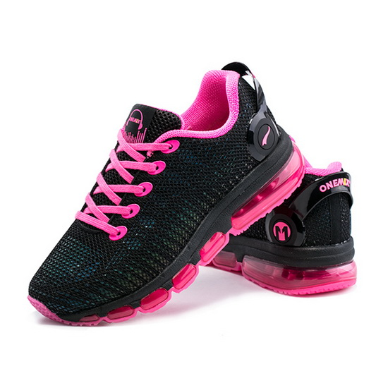 Black/Pink Music III Shoes ONEMIX Mesh Women's Sneakers