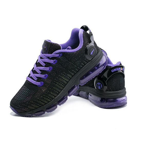 Black/Violet Music III Sneakers ONEMIX Women's Sport Shoes