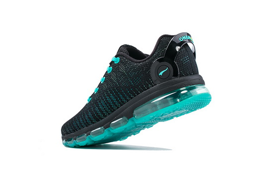 Black/Teal Music III Shoes ONEMIX Walking Men's Sneakers