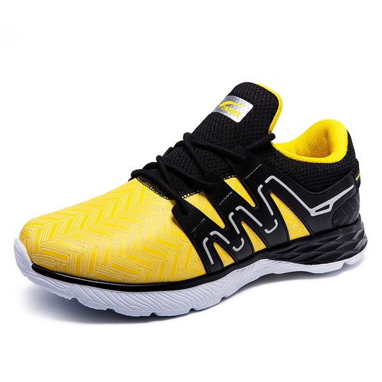 Yellow/Black Panther II Sneakers ONEMIX Men's Sport Shoes