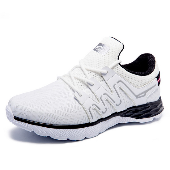 White/Black Panther II Sneakers ONEMIX Men's Trekking Shoes