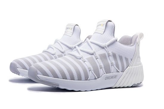 White Ghost Shoes ONEMIX Sport Women's City Sneakers - Click Image to Close