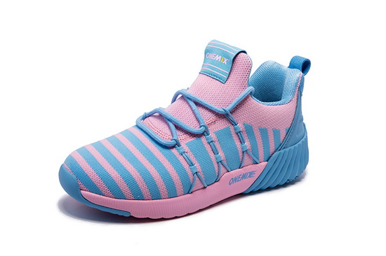 Pink Ghost Sneakers ONEMIX Mesh Women's City Shoes