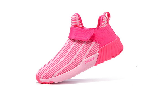 Pink Breathable Sneakers ONEMIX Zebra Women's Shoes