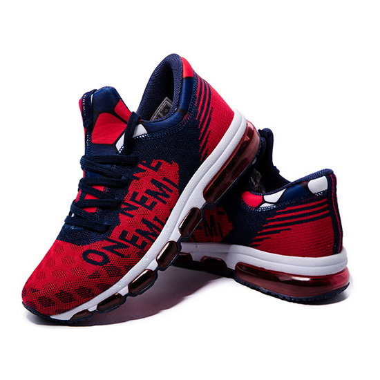 Red/Blue Zealot Sneakers ONEMIX Men's Sport Shoes