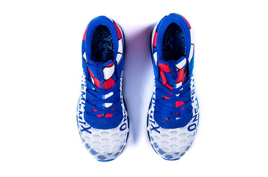 White/Blue Zealot Sneakers ONEMIX Men's Walking Shoes