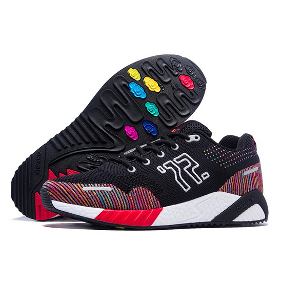 Black/Red Wukong Shoes ONEMIX Men's Outdoor Sneakers