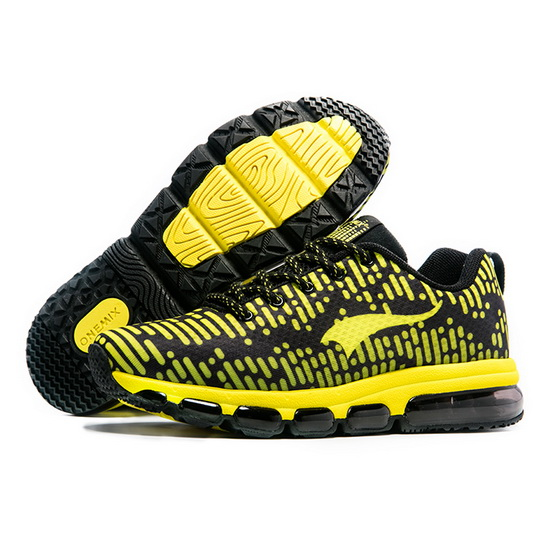 Yellow InCool Sneakers ONEMIX Men's High-tech Shoes