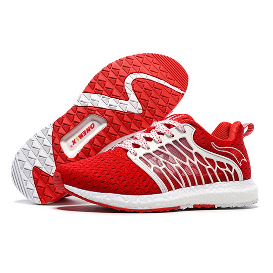Red Cicada Wings Women's Sneakers ONEMIX Men's Mesh Shoes