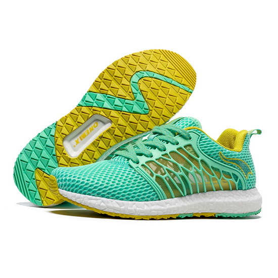Green Cicada Wings Shoes ONEMIX Women's Running Sneakers