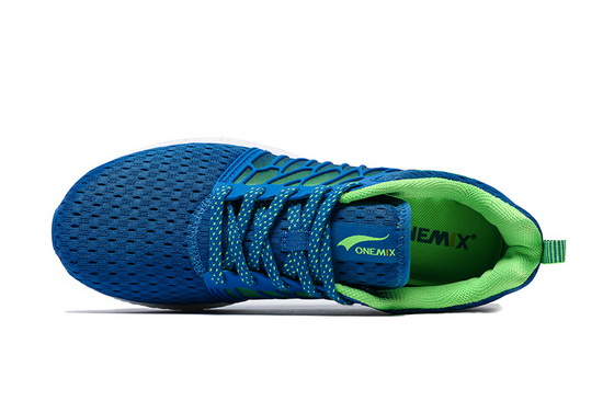 Blue Cicada Wings Sneakers ONEMIX Men's Breathable Shoes