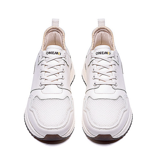 White Colossus Sneakers ONEMIX Men's Cushioning Shoes