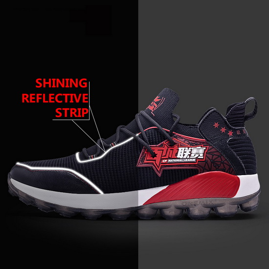 Black National League Women's Sneakers ONEMIX Men's Sport Shoes