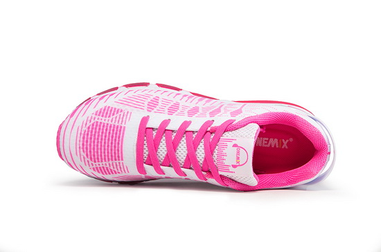 Pink/White Rhythm II Shoes ONEMIX Women's Comfortable Sneakers