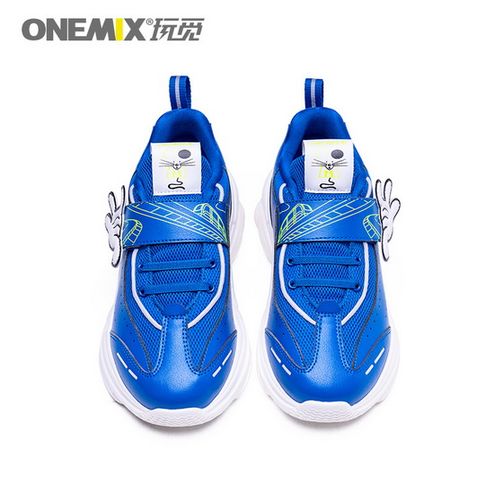 Blue Zodiac Mouse Shoes ONEMIX Outdoor Cute Kids Sneakers