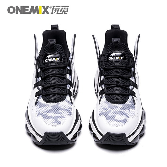 White/Black Dumbo Shoes ONEMIX Sport Lovers Sneakers