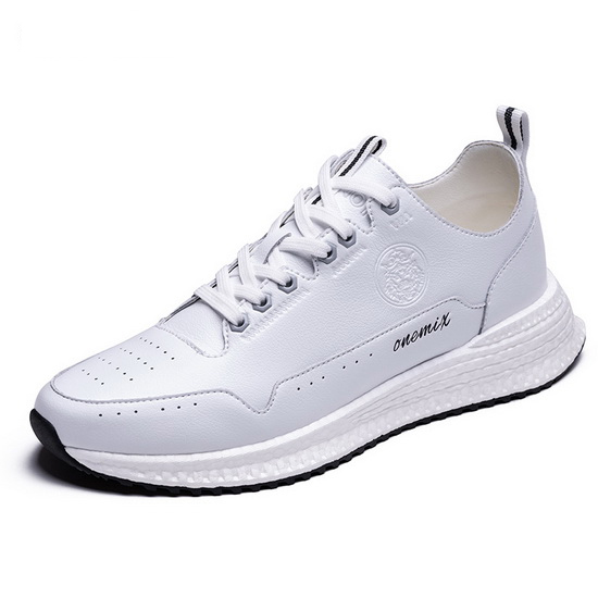 White Wonder Sneakers ONEMIX Outdoor Men's Leather Shoes